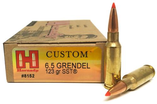6.5 Grendel 123 Grain SST Hornady Match  HO8152
