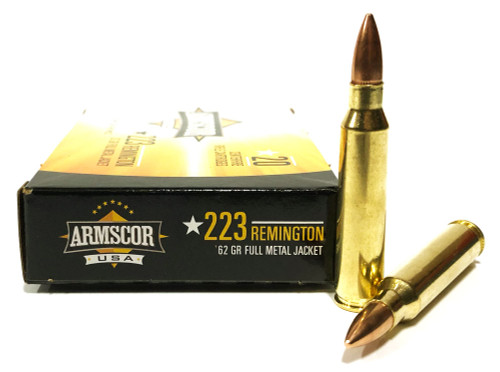 .223 62 Grain FMJ Armscor USA AC223-8N