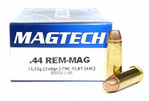 Surplus Ammo   Surplusammo.com 44 Magnum 240 Grain FMC Magtech Ammunition