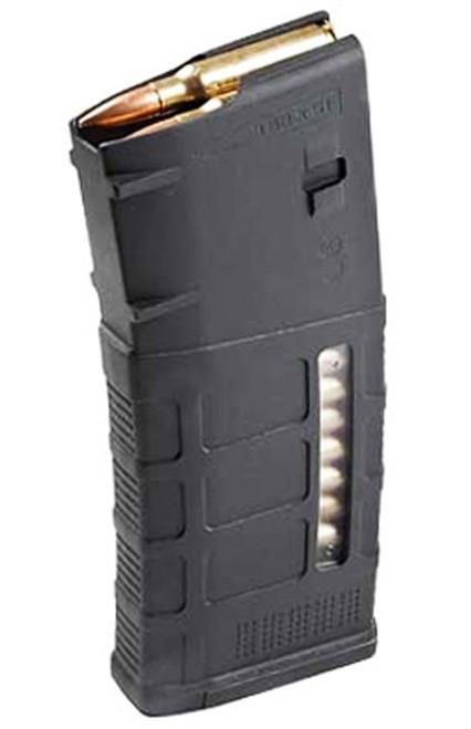 Surplusammo.com | Surplus Ammo Magpul M3 PMAG 25 Round LR/SR 308/7.62NATO with Window - Black MAG292-BLK