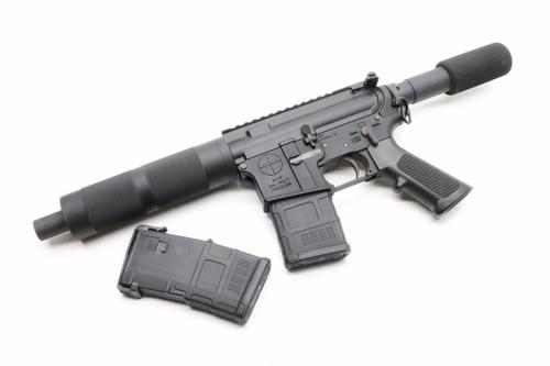 Surplusammo.com   Surplus Ammo SAA Dragon's Head Complete AR-15 Pistol  5.56, Phosphate BCG, 2 Magpul Gen 3 Pmags, & Magpul ASAP Sling Attachment SAA-DHP1