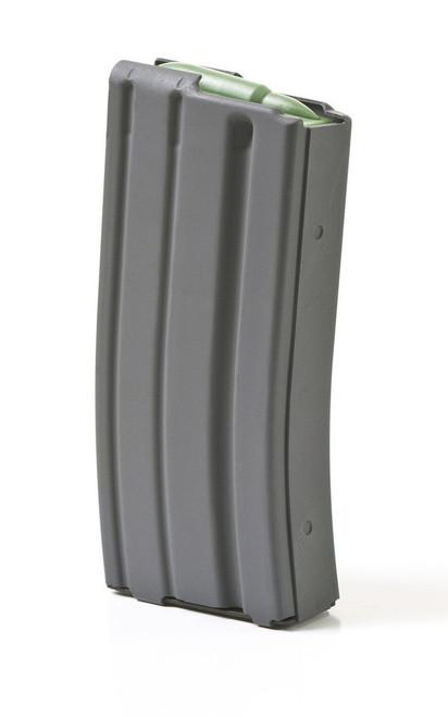 ASC AR-15 223/556 20 Round Aluminum Magazine - Gray