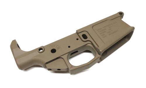 Aero Precision .308 M5 Stripped Lower Receiver - DPMS Cut - FDE API-M5L-FDE