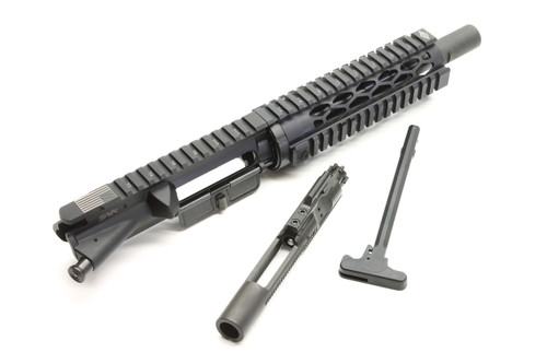 "Surplus Ammo | Surplusammo.com SAA 8"" 5.56 NATO Free Float Carbine Diamond Series Complete AR-15 NFA/Pistol Upper Receiver"