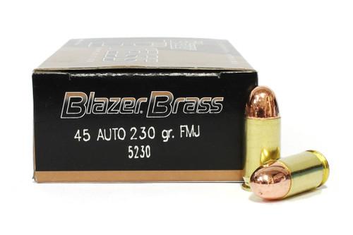 Surplus Ammo   Surplusammo.com 45 ACP 230 Grain Full Metal Jacket CCI Blazer Brass Ammunition