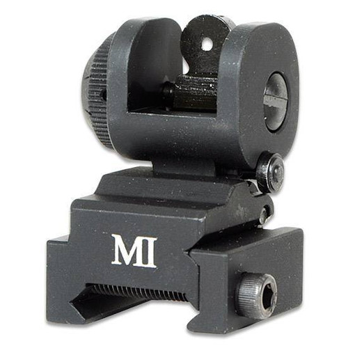Midwest Industries ERS Emergency Rear Sight Picatinny Flip-Up Black AR-15 MCTAR-ERS