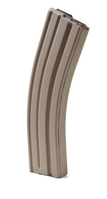 ASC AR-15 223/556 40 Round Stainless Steel Magazine - FDE