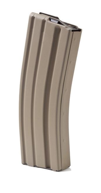 ASC AR-15 223/556 30 Round Aluminum Magazine - FDE