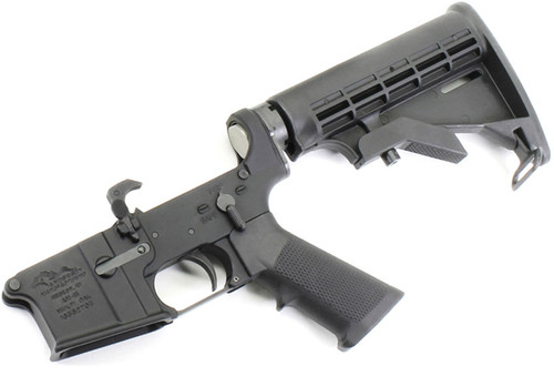 Anderson AM-15 AR15 Complete Lower with M4 Collapsing Stock AND-AM15T-UM-6