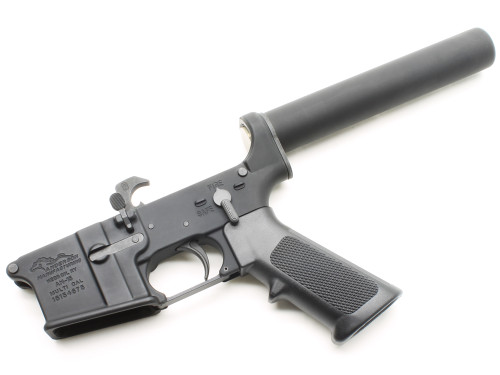 Surplusammo.com   Surplus Ammo Anderson AM-15 AR15 Complete Lower Receiver Pistol Tube AND-AM15-P