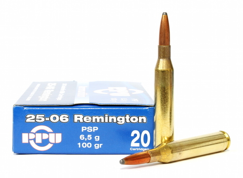 Surplus Ammo, Surplusammo.com .25-06 Rem 100 Gr PSP Prvi Partizan Ammunition