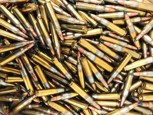 5.56 62 Grain M855 Bullet SAA Ammo - 500 Rounds, Bulk NEW SAM855-500RD