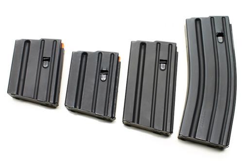 Surplusammo.com   Surplus Ammo Ammunition Storage Components (ASC) AR-15 .223/5.56 ALUMINUM Magazines - Black 5, 10, 20, 30 round mags 223-AL-BM-ASC