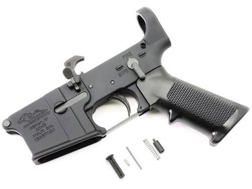 Surplusammo.com | Surplus Ammo Anderson AM-15 AR15 Assembled Lower - No Stock AND-AM15T-COMP-NOSTK