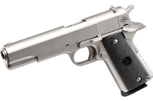 Surplus Ammo, Surplusammo.com Rock Island Armory .45 ACP 1911 GI Standard FS Matte Nickel - Pistol - 51439