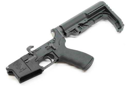 Surplus Ammo, Surplusammo.com SA-15 Watson Lightweight AR15  Complete Lower with Collapsing Stock