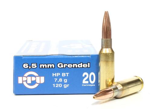 Surplus Ammo, Surplusammo.com 6.5 Grendel 120 Grain HPBT Prvi Partizan