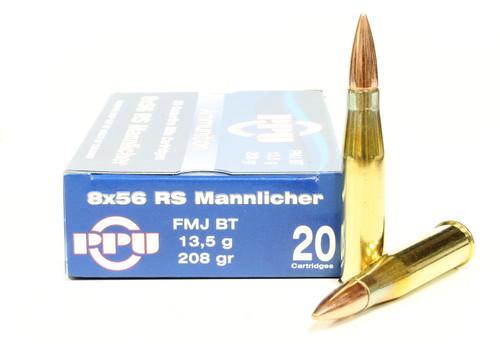 Surplus Ammo, Surplusammo.com 8x56mm RS Mannlicher 208 Grain FMJ Prvi Partizan Ammunition