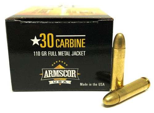 .30 Carbine 110 Grain FMJ Armscor USA AC30C-N1