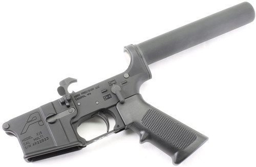 Surplusammo.com Aero Precision AR15 Complete Lower with Pistol Tube AERO-PL