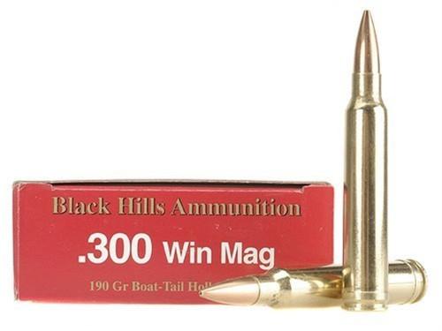 300 Win Mag 190 Grain Sierra Matchking HP-BT Federal Gold