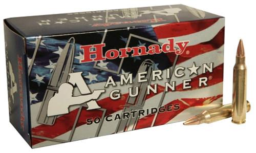 .223 55 Grain HPBT Hornady American Gunner Ammunition HO80237