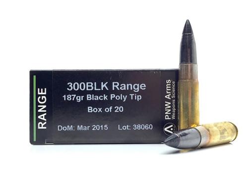 Surplus Ammo | Surplusammo.com 300 AAC Blackout Gemtech Subsonic 187 Grain Polymer Tip
