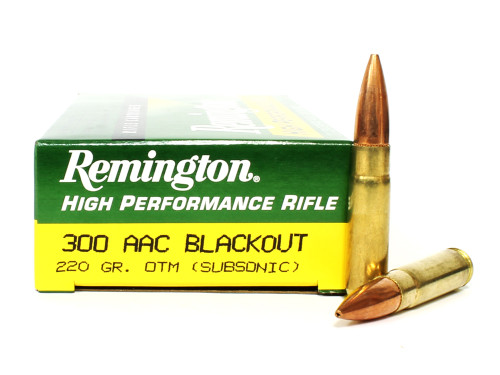 Surplus Ammo | Surplusammo.com 300 AAC Blackout 220 Grain Subsonic OTM Remington Express RM21509 / R300AAC8