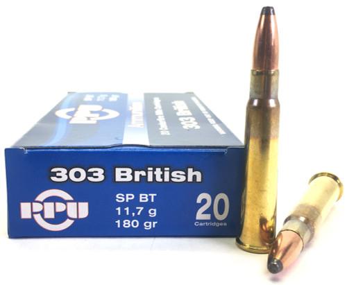 .303 British 180 Grain SPBT Prvi Partizan - 20 Rounds PP3.9
