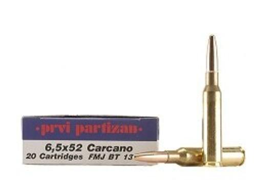 Surplus Ammo | Surplusammo.com 6.5x52mm Carcano 139 Grain FMJ-BT Prvi Partizan