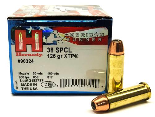 38 Special 125 Gr XTP JHP Hornady American Gunner  HO90324
