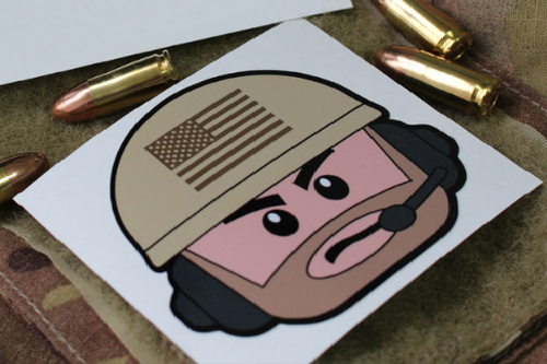 Always Outnumbered Never Outgunned | Sticker The Operator Morale Patch Surplus Ammo