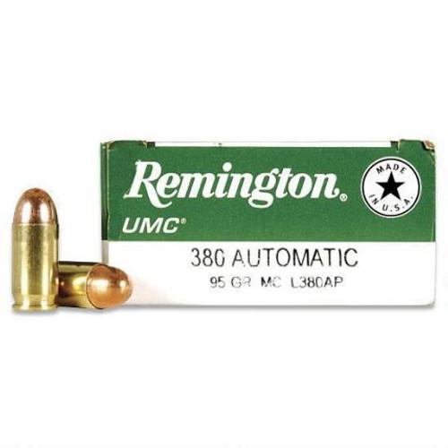 Surplus Ammo | Surplusammo.com 380 95 Grain MC (FMJ) Remington UMC