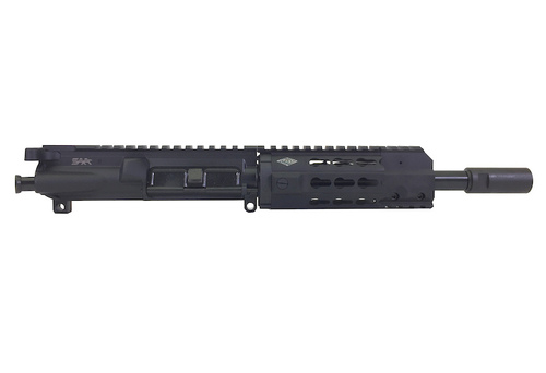 "Surplus Ammo   Surplusammo.com SAA 8"" 5.56 NATO Free Float Mini KR7 Keymod Series 5.56 NATO Complete AR-15 NFA/Pistol Upper Receiver"