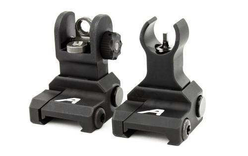 Surplus Ammo | Surplusammo.com Aero Precision Flip Up Sight Set (Front & Rear) (APRH100703)