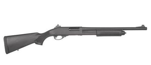 Surplus Ammo   Surplusammo.com Remington 870 Police Parkerized Shotgun with Ghost Ring & XS Sights