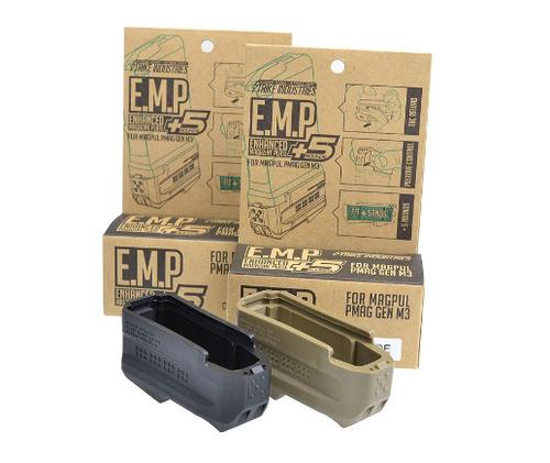Surplus Ammo   Surplusammo.com Strike Industries Enhanced Magazine Plate E.M.P+5 For Magpul Gen3 AR15 Mags