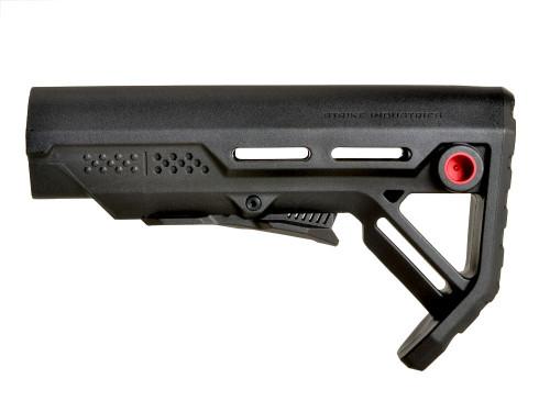 Surplus Ammo | Surplusammo.com Strike Industries MOD-1 Viper Stock - Black/Red (SI-VIPER-ES-MOD1BK-RED)