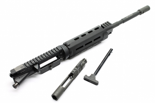 Surplus Ammo SAA AR-15 Carbine Magpul M-LOK Series 5.56 NATO Complete AR15 Upper Receiver M4 Chromoly Dragon's Head Muzzle Brake
