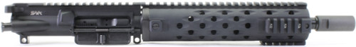 "Surplusammo.com SAA 10.5"" 5.56 YHM Mid Length Free Float TJ Quad Complete AR-15 NFA/Pistol Upper Receiver - CUSTOMIZABLE SATJMIDPT"