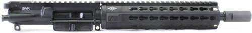 "Surplusammo.com SAA 10.5"" Free Float Mid YHM KR7 Keymod Series 5.56 NATO Complete AR-15 NFA/Pistol Upper Receiver - CUSTOMIZABLE SAKR7MIDPST"