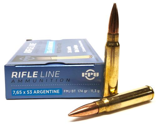 7.65x53mm Argentine 174 Grain FMJBT Prvi Partizan PP7AF