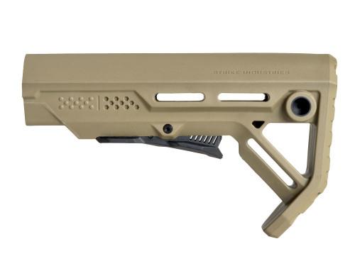 Surplus Ammo   Surplusammo.com Strike Industries MOD-1 Viper Stock - FDE/Black (SI-VIPER-ES-MOD1FDE-BLK)