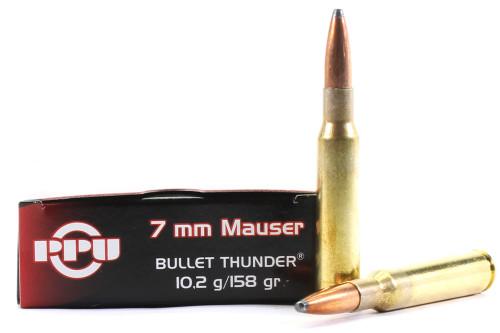 Surplus Ammo | Surplusammo.com 7mm Mauser 158 Grain Thunder Prvi Partizan - 20 Rounds  (PP7.01)