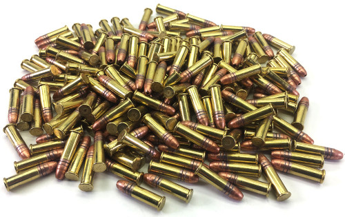 Surplusammo.com 22 LR American Quality NEW 36 gr. Copper-Plated Hollow-Point High-Velocity Ammo - 1,600 Rounds AQ22LRHVHPCPR