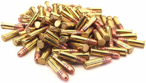 Surplus Ammo | Surplusammo.com 22 LR American Quality 40 gr. Copper-Plated Round Nose High-Velocity - 1,500 Rounds AQ22LRHVCPRN-1500