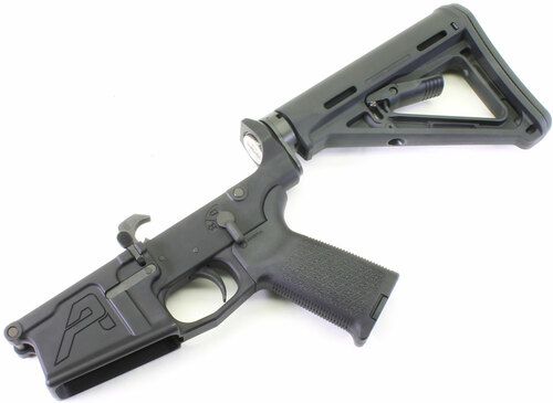 Aero Precision .308 M5 Complete Lower Receiver with Magpul MOE Stock & Grip - DPMS Cut API-M5LMOE