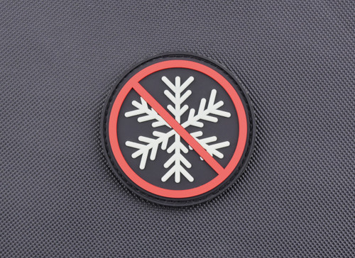 Surplus Ammo | Surplusammo.com No Snowflakes Allowed Glow In the Dark 3D PVC Morale Patch