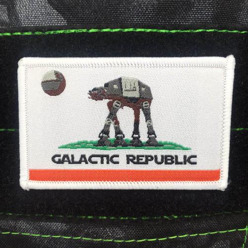 Surplus Ammo   Surplusammo.com California Galatic Republic Velcro Morale Patch