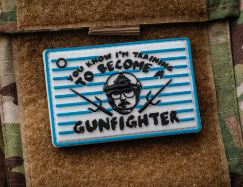 Surplus Ammo | Surplusammo.com Training GunFighter Color PVC Morale Patch